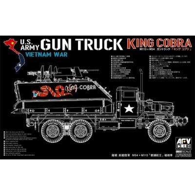 """CAMION U.S. ARMY """"KING COBRA"""" -Escala 1/35- AFV Club AF35323"""