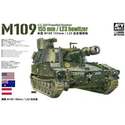 OBUS AUTOPROPULSADO M-109 (155 mm / L23) -Escala 1/35- AFV Club AF35329