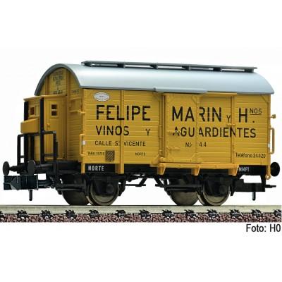 "VAGON MERCANCIAS ""Felipe Marin"" Epoca II -Escala 1/160 - N- Fleischmann 845707"