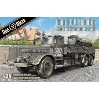 CAMION FAUN L900 (Techo duro) -Escala 1/35- Das Werk DW35001
