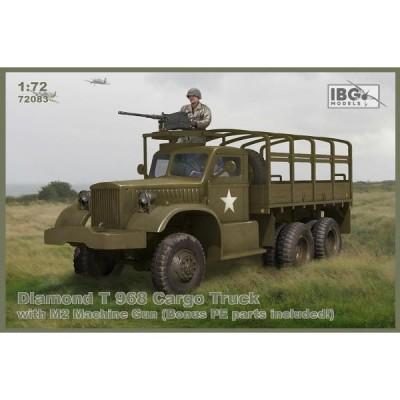 CAMION DIAMOND T-968 (Ametralladora M-2) -Escala 1/72- IBG 72083