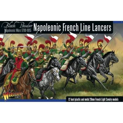 LANCEROS DE LINEA FRANCESES NAPOLEONICOS (13 MINIATURAS) ESCALA 1/56 (28mm)