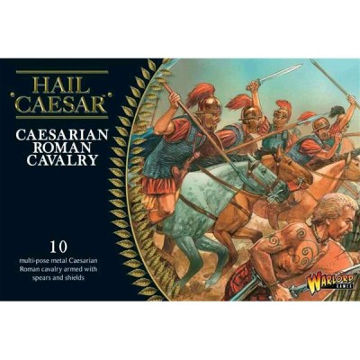 CABALLERIA ROMANA DE CESAR (10 JINETES) ESCALA 1/56 (28mm) WARLORD MINIATURES
