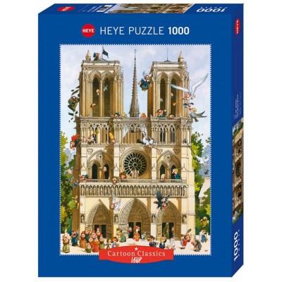 PUZZLE 1000 PZS VIVE NOTREDAME - HEYE 29905