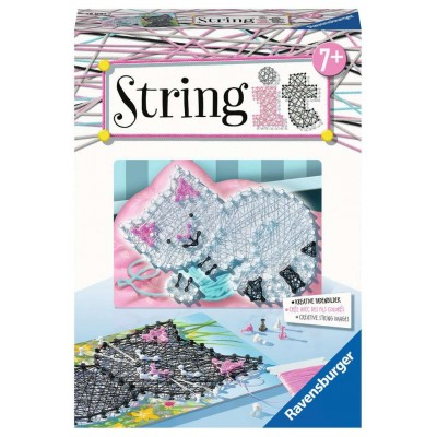 STRING IT MINI: GATITOS - Ravensburger 18091