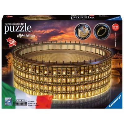 PUZZLE 3D 216 pzas. COLISEO NIGHT - RAVENSBURGER 11148