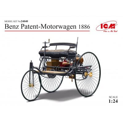 BENZ MOTORWAGEN 1886 -1/24- ICM 24040