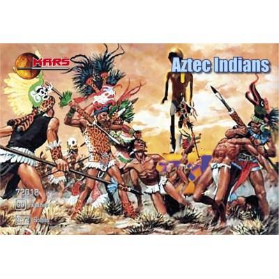 GUERREROS AZTECAS -Escala 1/72- Mars 72018