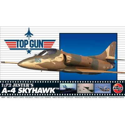 """Top Gun: DOUGLAS A-4 SKYHAWK """"Jester"""" -1/72- Airfix A00501"""
