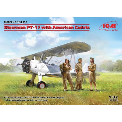 STEARMAN PT-17 & WASP -1/32- ICM 32051