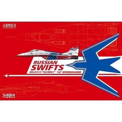 "MIKOYAN GUREVICH Mig-29 9-13 FULCRUM ""Russian Swift"" -Escala 1/48- Great Wall Hobby S4814"