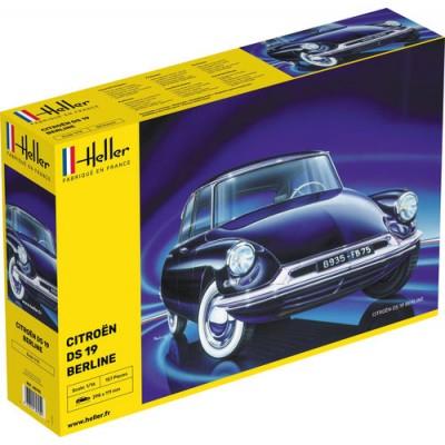 CITROEN DS19 -Escala 1/16- Heller 80795