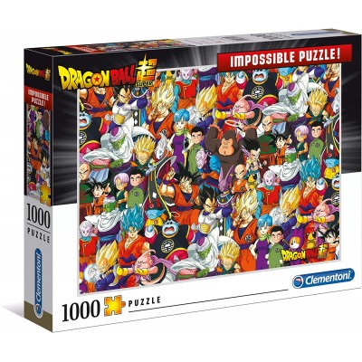 PUZZLE 1000 PZS IMPOSSIBLE DRAGON BALL - CLEMENTONI 39489
