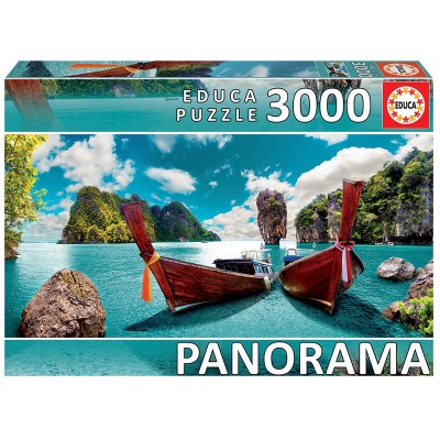 PUZZLE PANORAMA 3000 Pzas PHUKET TAILANDIA - Educa 18581