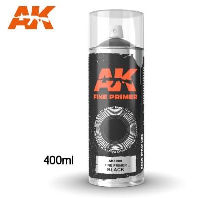 SPRAY IMPRIMACION NEGRA (400 ml) - AK 1009