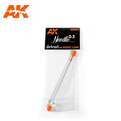 AGUJA (0.3 mm) Airbrush Basic Line - AK Interactive AK9001