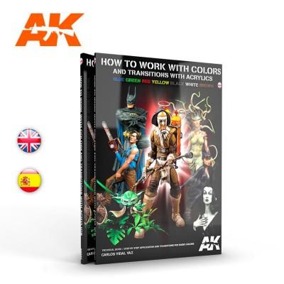 COMO TRABAJAR CON COLORES Y TRANSICIONES (Castellano) - AK Interactive AK294