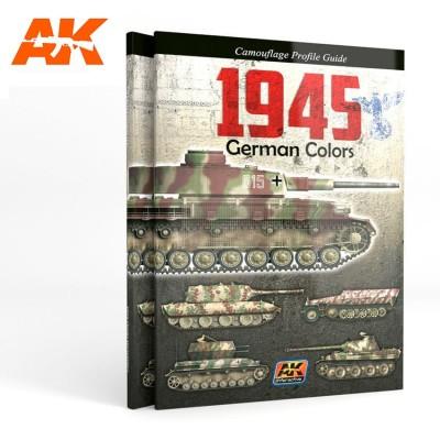 GUIA DE COLORES ALEMANES 1945 (Castellano) - AK Interactive AK403