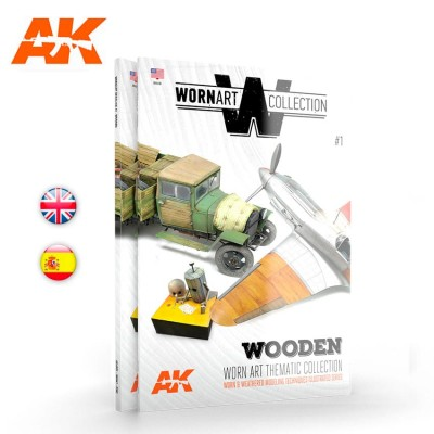 WORN ART COLLECTION 01 MADERA (Castellano) - AK Interactive AK4902