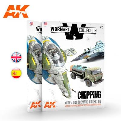 WORN ART COLLECTION 02 CHIPPING (Castellano) - AK Interactive AK4904