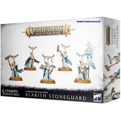 ALARITH STONEGUARD - LUMINETH REALM-LORDS - GAMES WORKSHOP 87-54