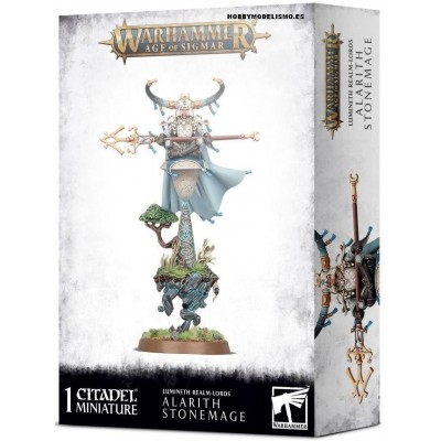 ALARITH STONEMAGE - LUMINETH REALM-LORDS - GAMES WORKSHOP 87-55