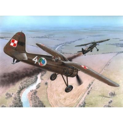 PZL P.11C FIRS SHOTS -Escala 1/72- AZUR A112