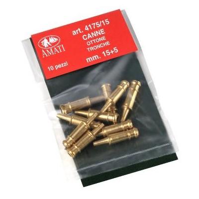 BOCA DE CAÑON 15mm (10 UNIDS) - AMATI 4175/15
