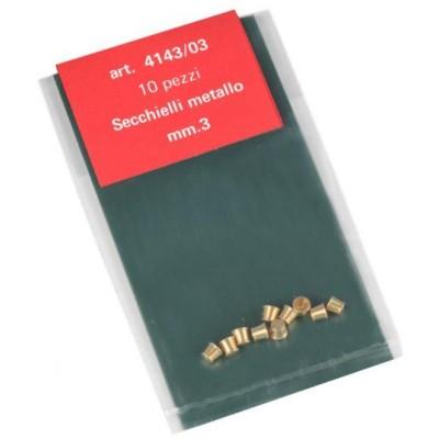 CUBOS LATON 3mm (4 unids) AMATI 414303