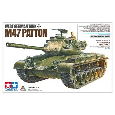 CARRO DE COMBATE M-47 PATTON ALEMAN - ESCALA 1/35 - TAMIYA 37028