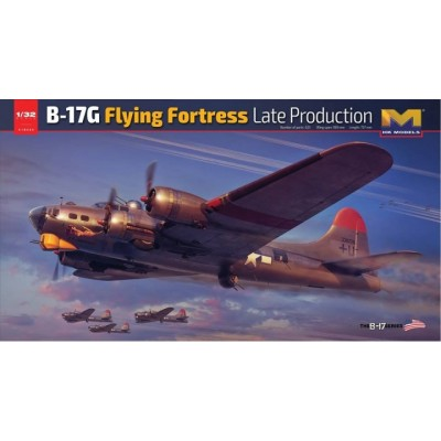 BOEING B-17 G FLYING FORTRESS -Escala 1/32- Hong Kong Model 01E30