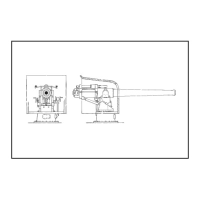 CAÑON MONTAJE NAVAL (102 mm) -Escala 1/72- CMK MV079