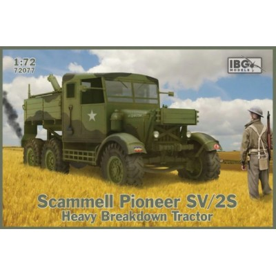 CAMION SCAMMELL PIONEER SV/2S BREAKDOWN TRACTOR - ESCALA 1/72 - IBG 72077