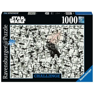 PUZZLE 1000 PZS CHALLENGE STAR WARS - RAVENSBURGER 14989