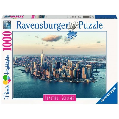 PUZZLE 1000 PZS NEW YORK SKYLINE - RAVENSBURGER 14086