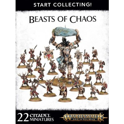 START COLLECTING BEAST OF CHAOS - GAMES WORKSHOP 70-79