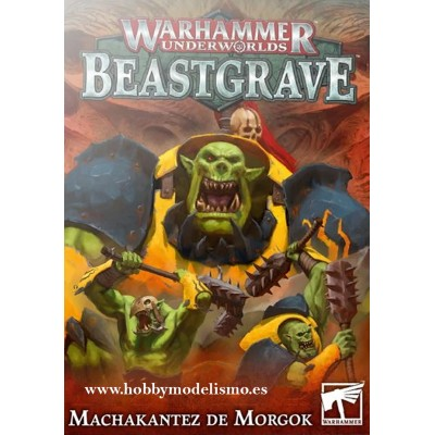BEASTGRAVE MACHAKANTEZ DE MORGOK - GAMES WORKSHOP 110-88-03
