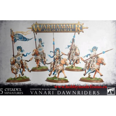 VANARI DAWNRIDERS LUMINETH REALM-LORDS - GAMES WORKSHOP 87-60