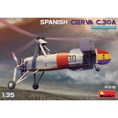 AUTOGIRO CIERVA C.30 ESPAÑA -Escala 1/35- Miniart Model 41016