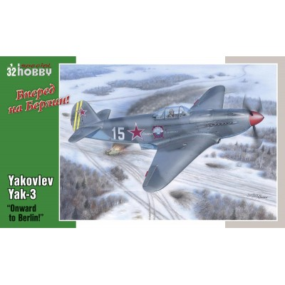 "YAKOVLEV YAK-3 ""Onward to Berlin!"" - Escala 1/32 - Special Hobby SH3201"