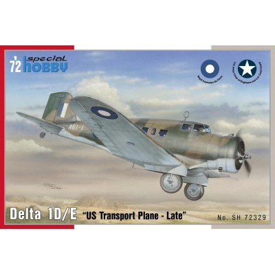 DELTA 1D/E US TRANSPORT PLANE - ESCALA 1/72