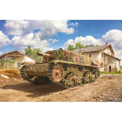CAÑON AUTOPROPULSADO (SEMOVENTE) M-42 (75 mm/18) -Escala 1/35- Italeri 6569