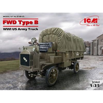 CAMION FWD Type B (US Army) -Escala 1/35- ICM 35655