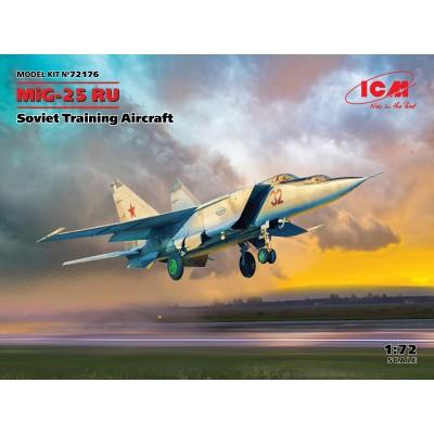 MIKOYAN GUREVICH MIG-25 RU FOXBAT (Trainer) -1/72- ICM 72176