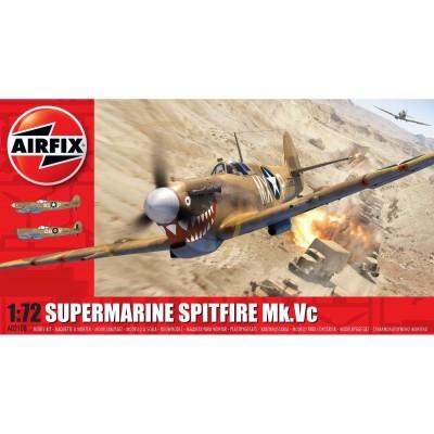 SUPERMARINE SPITFIRE MK-V c TROP -1/72- Airfix A02108