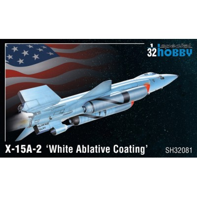 BELL X-15 A-2 White Ablative Coating -Escala 1/32- Special Hobby SH32081