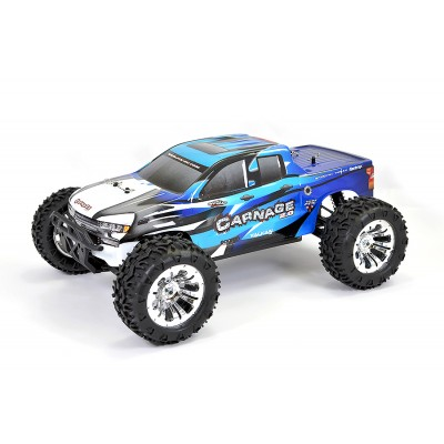 FTX CARNAGE 2.0 COCHE RC TRUCK AZUL 1/10 ELECTRICO BRUSHED - RTR