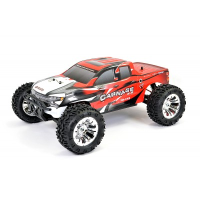 FTX CARNAGE 2.0 COCHE RC TRUCK ROJO 1/10 ELECTRICO BRUSHED - RTR