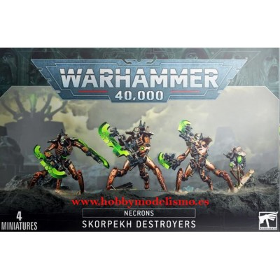 DESTRUCTORES SKORPEKH NECRONES - GAMES WORKSHOP 49-31