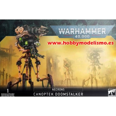 DESTRUCTOR ACECHANTE CANOPTICO NECRON - GAMES WORKSHOP 49-29